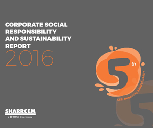 Sharrcem CSR and Sustainability Report 2015